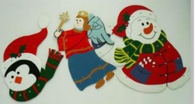 圣诞中空板工艺品