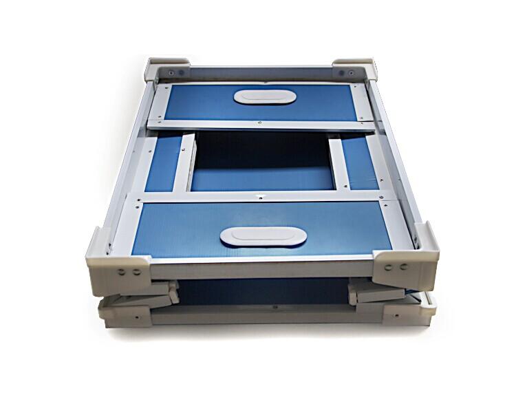 折叠式中空板骨架箱